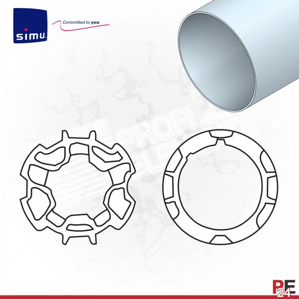 Simu T5 für Rundwelle 65 mm | Adaptersatz