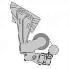 Dachsparrenmontage (Gelenkmarkise)