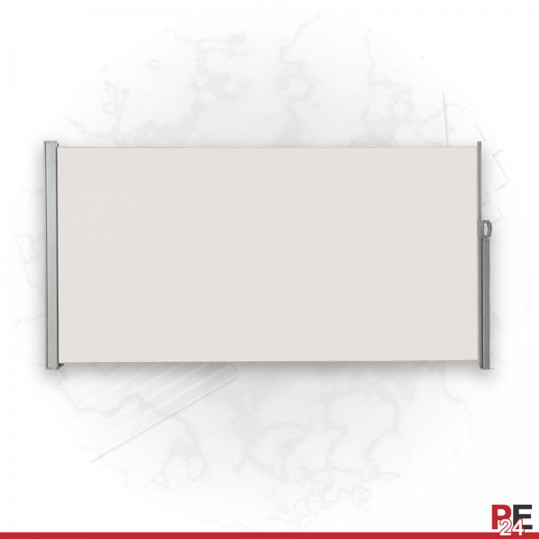 albe Seitenwand zum ausziehen aus Stahl | Seitenmarkise