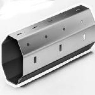 8-Kant Stahlwelle Mini 40 mm | Rollladenbau