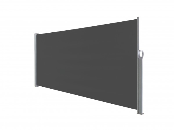 albe Sichtschutz 300x180 in Anthrazit | Seitenmarkise ausziehbar