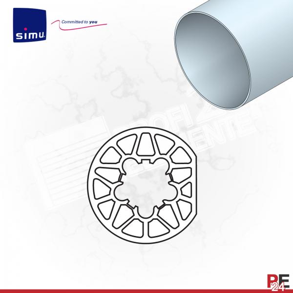 Simu T6 für Rundwelle 63x1,5 mm | Mitnehmerring