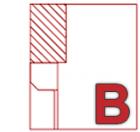 B - In Laibung | Linksroller