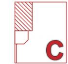 C - In Laibung | Rechtsroller