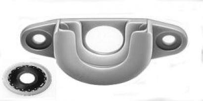 Mini- Aufschraublager PVC inkl. Kugellager