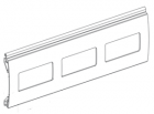 Sichtfensterprofil mit Plexiglaseinsatz