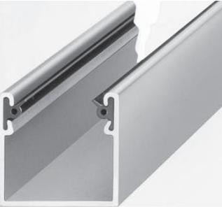 Aluminium Führungsschiene Mini/Maxi | Rollladenbau