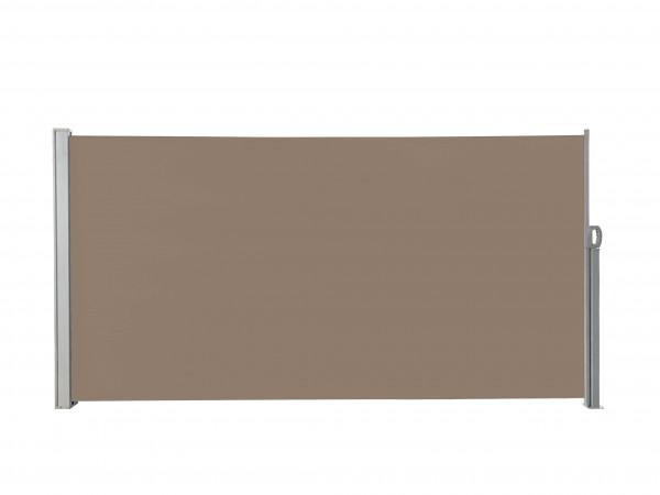 albe Sichtschutz 300x160 in Braun | Seitenmarkise ausziehbar