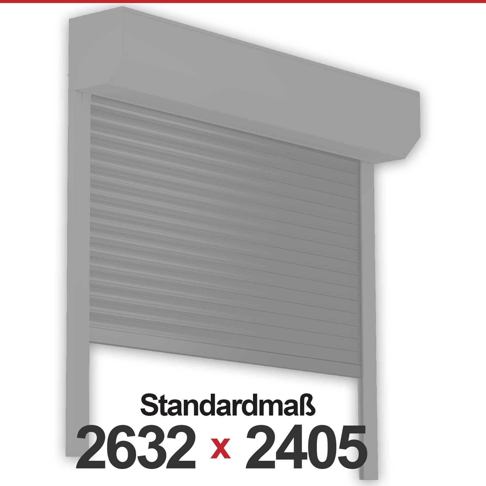 rolltore mit standardma rolltore profielemente24. Black Bedroom Furniture Sets. Home Design Ideas