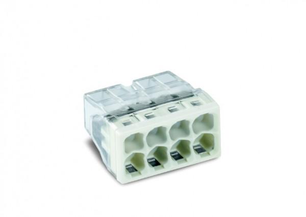 WAGO 2273-208 COMPACT-Verbindungsdosenklemme; 8-Leiter-Klemme