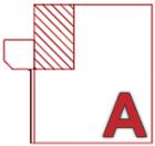 A - Aussen auf Fassade | Linksroller