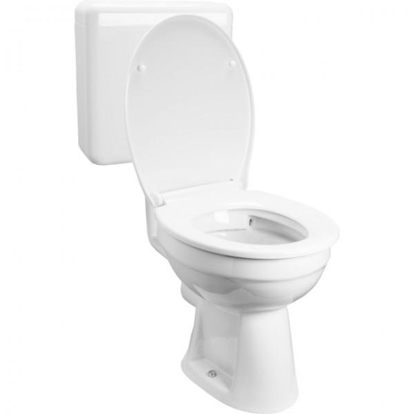 Cornat Clean spülrandlos | Stand-WC Komplett-Set